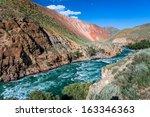 rapid river kekemeren  tien... | Shutterstock . vector #163346363