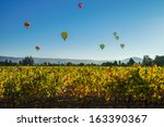 Hot Air Balloons Above A...