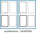 bold frame border design various | Shutterstock .eps vector #16345540