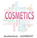 vector cosmetics concept tag...