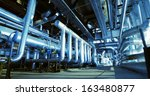 industrial zone  steel... | Shutterstock . vector #163480877