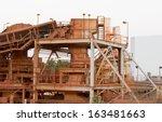 bauxite mining industry  | Shutterstock . vector #163481663