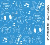 background,design,doodle,headphone,headset,icon,instrument,ipod,keyboard,listening,music,musical,notes,patterns,piano