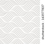 The geometric pattern. Seamless vector background.Gray and white texture. | Shutterstock vector #163577837