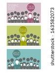 infographics concept background ... | Shutterstock .eps vector #163582073