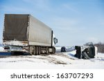 Lorry Trailer Car Crash Smash...