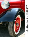 classic car | Shutterstock . vector #1637387