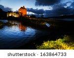 Eilean Donan Castle At Dusk ...