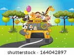illustration of a group of...   Shutterstock .eps vector #164042897
