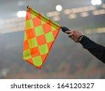 offside trap  | Shutterstock . vector #164120327