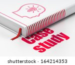 education concept  closed book...   Shutterstock . vector #164214353