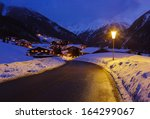 Mountains Ski Resort Solden...
