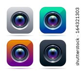 photo app icon. color...