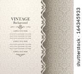 vintage background  antique... | Shutterstock .eps vector #164345933