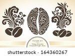 vector set of vintage...   Shutterstock .eps vector #164360267