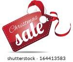 Christmas Sales Tag. Eps 10...