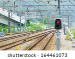 Railway And Signal Light