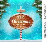 Christmas Greeting Card  Winte...