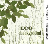 vector ecology background with... | Shutterstock .eps vector #164530763