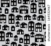 houses icon of seamless pattern | Shutterstock . vector #164532467