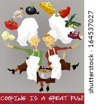apprenti,tablier,bistro,chaudière,garçon,café,dessin animé,fromage,enfants,nettoyer,concept,cook,cuisson,couverture,sale