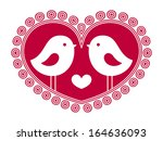 birds in love 4 | Shutterstock .eps vector #164636093