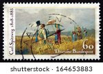 germany   circa 1985  a stamp... | Shutterstock . vector #164653883
