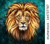Lion Aslan Digital Painting ...