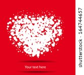 abstract heart for your design | Shutterstock .eps vector #164744657