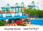 singapore commercial port. it