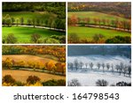 Four Seasons Landscape With...