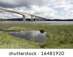 orwell bridge  ipswich  suffolk ...