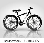 vector bike | Shutterstock .eps vector #164819477