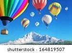 air balloons | Shutterstock . vector #164819507