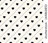 vector seamless retro pattern ...   Shutterstock .eps vector #164863853