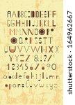 typography   Shutterstock . vector #164962667