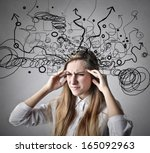 so many thoughts | Shutterstock . vector #165092963