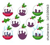 Christmas Pudding Clip Art....