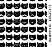 seamless pattern with cute...   Shutterstock .eps vector #165157643