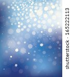 vector blue background with...   Shutterstock .eps vector #165222113