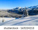 Winter Landscape Of High Tatra...