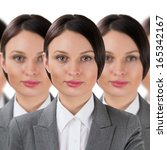 Group Of Business Women Clones...