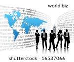 business people | Shutterstock .eps vector #16537066