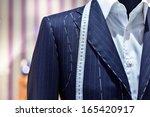 suits on shop mannequins   Shutterstock . vector #165420917
