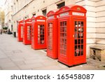 The Five Red Phone Boxes In...