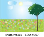 illustration of nature | Shutterstock .eps vector #16555057
