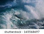 ocean wave | Shutterstock . vector #165568697