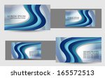 business card design | Shutterstock .eps vector #165572513