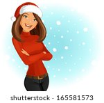 christmas time | Shutterstock .eps vector #165581573