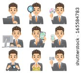 business man | Shutterstock .eps vector #165584783